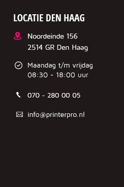 Printerpro.nl Den Haag