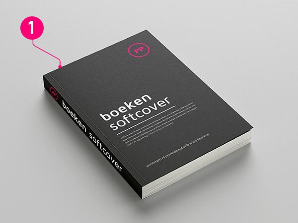 staand boek formaat