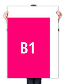 B1 poster drukken