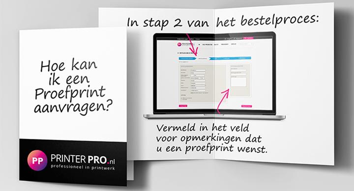 Proefprint aanvragen