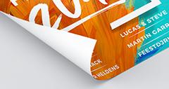 Houtvrij mat gestreken papier