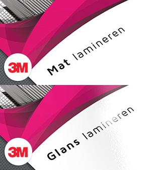 3M sticker polymeer laminaat